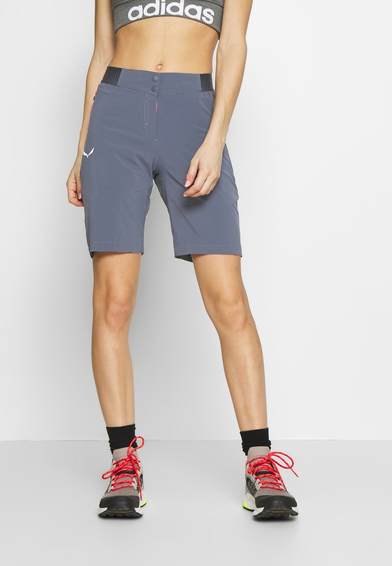 Salewa - PEDROC CARGO - Sports shorts - ombre blue