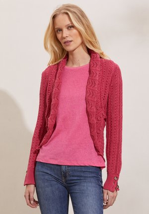 ZINNIA - Cardigan - pink fudge