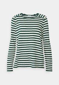 Marc O'Polo DENIM - LONGSLEEVE ROUNDNECK - Long sleeved top - multi/fir tree - 0