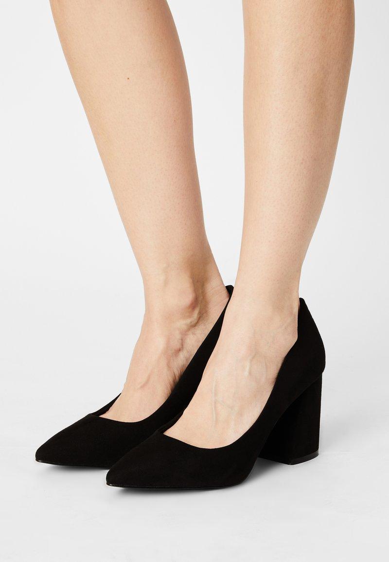 Even&Odd Wide Fit - Classic heels - black