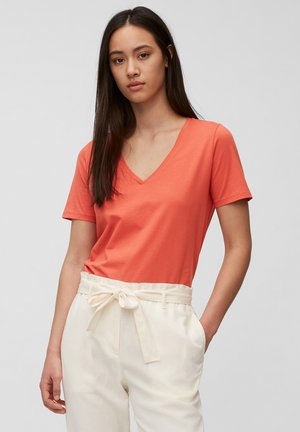 Basic T-shirt - burnt orange