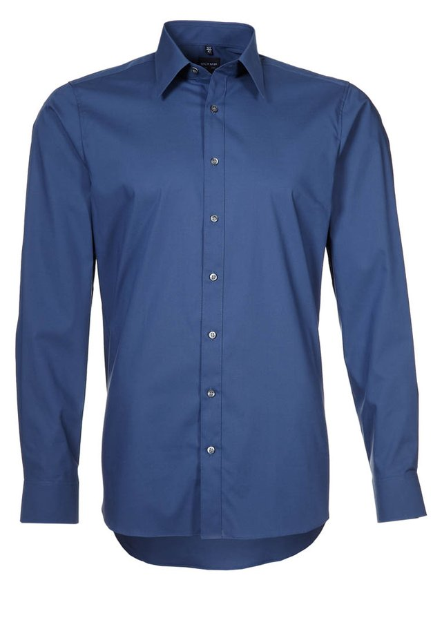 OLYMP LEVEL 5 BODY FIT - Camicia elegante - rauchblau