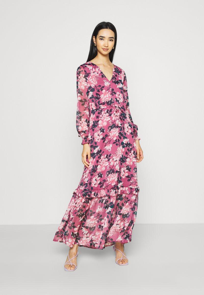 Vila - VIFALIA ANCLE DRESS - Maxi dress - pink