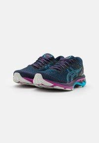 ASICS - GEL-KAYANO 27 - Stabilty running shoes - french blue/digital aqua - 1