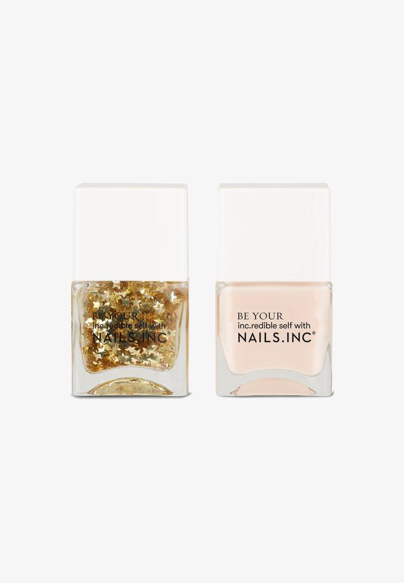 Nails Inc - SEEING STARS - Nail set - glitter/pink