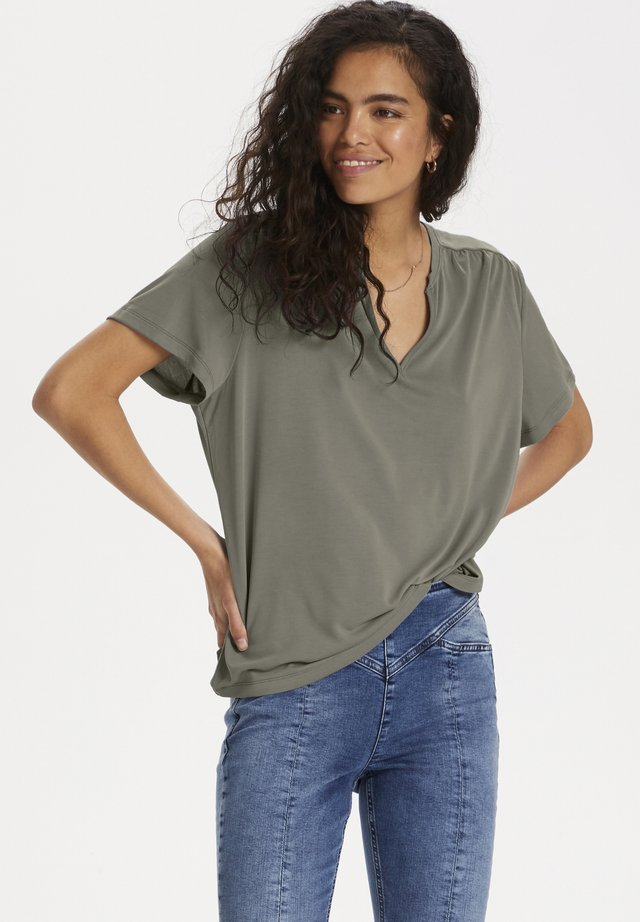 CRAMER - T-shirt basic - vetiver