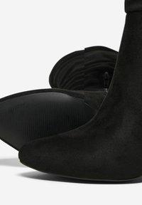 ONLY SHOES - Laarzen met hoge hak - black - 4