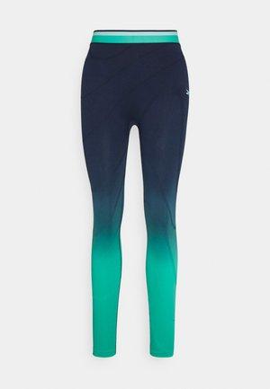 SEAMLESS - Legging - vector navy/future teal