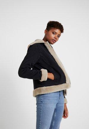 ONLJUSTINE - Winter jacket - black