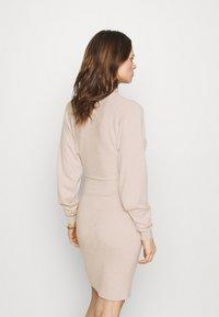 Zign - Shift dress - beige - 2