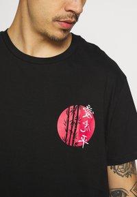 Brave Soul - TOKYO - T-shirt con stampa - black - 6