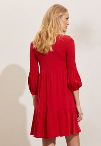 Odd Molly - GLORIA - Jersey dress - cherry red - 2