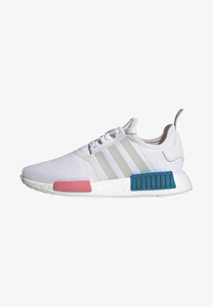NMD_R1  - Baskets basses - footwear white/grey one/hazy rose