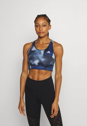 AEROREADY WORKOUT BRA LIGHT SUPPORT - Sujetador deportivo - royal blue/white