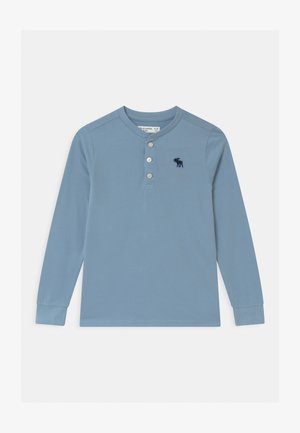 HENLEY - Topper langermet - light blue