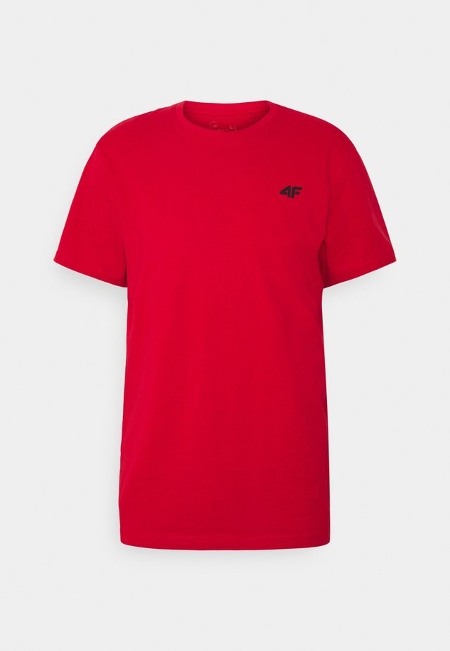 Men's T-shirt - Basic T-shirt - red