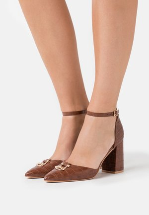 BELLA - High heels - brown