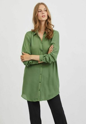 VILUCY NOOS - Button-down blouse - vineyard green