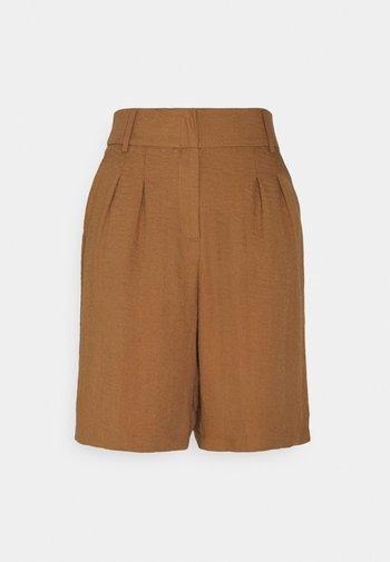 KAYLEE - Shorts - tobacco brown