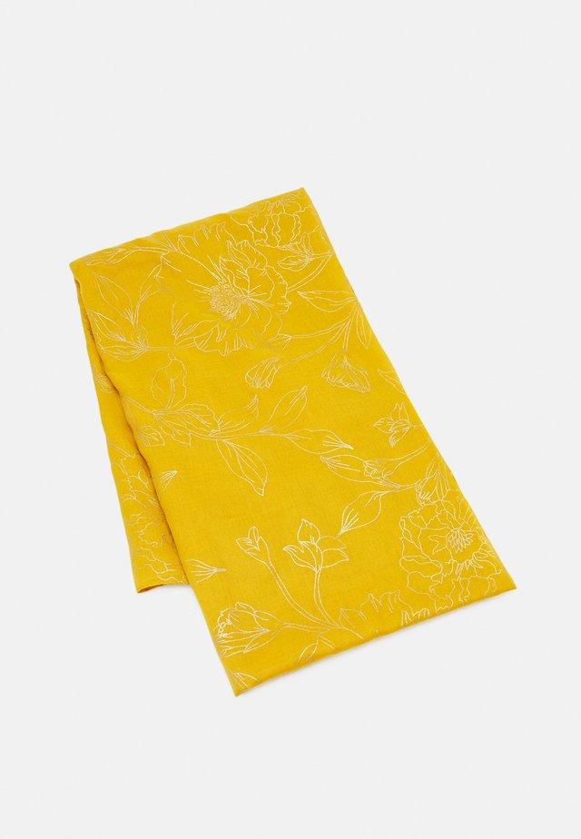 Tørklæde / Halstørklæder - moutarde