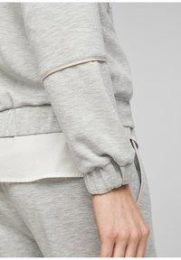 s.Oliver - Zip-up sweatshirt - gray - 6