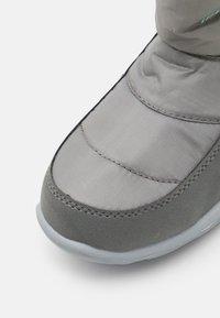 Kappa - CESSY TEX UNISEX - Winter boots - grey/mint - 5