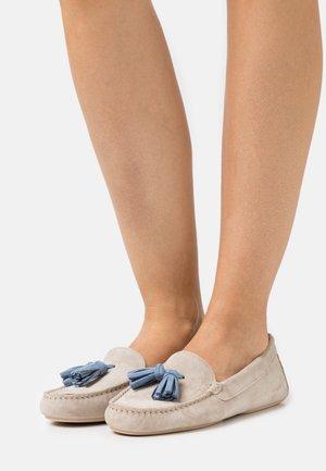 Mokasíny - sand/jeans