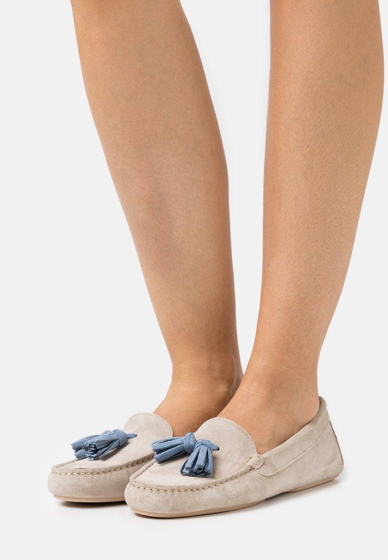 Pretty Ballerinas - Mokkasiner - sand/jeans
