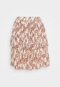 Moss Copenhagen - CAMLY RIKKELIE SKIRT  - A-line skirt - bellini - 1
