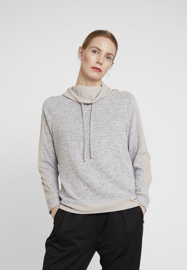 Sweatshirt - middle grey melange