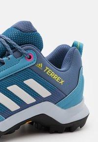adidas Performance - TERREX AX3 - Hiking shoes - haze blue/crystal white/screaming pink - 5