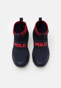 Polo Ralph Lauren - CHANING - Vysoké tenisky - navy/red - 3