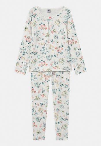 FLORAL - Pyjama set - marshmallow/multico