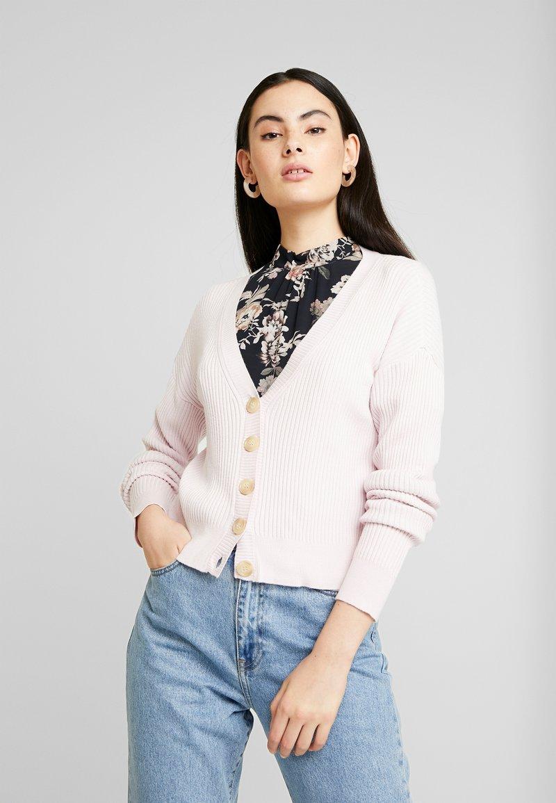 YAS - YASHALIRA CARDIGAN - Cardigan - cradle pink