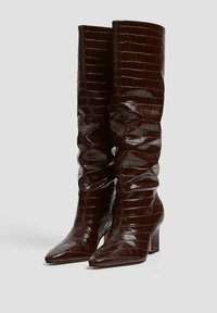 PULL&BEAR - Boots - brown - 3