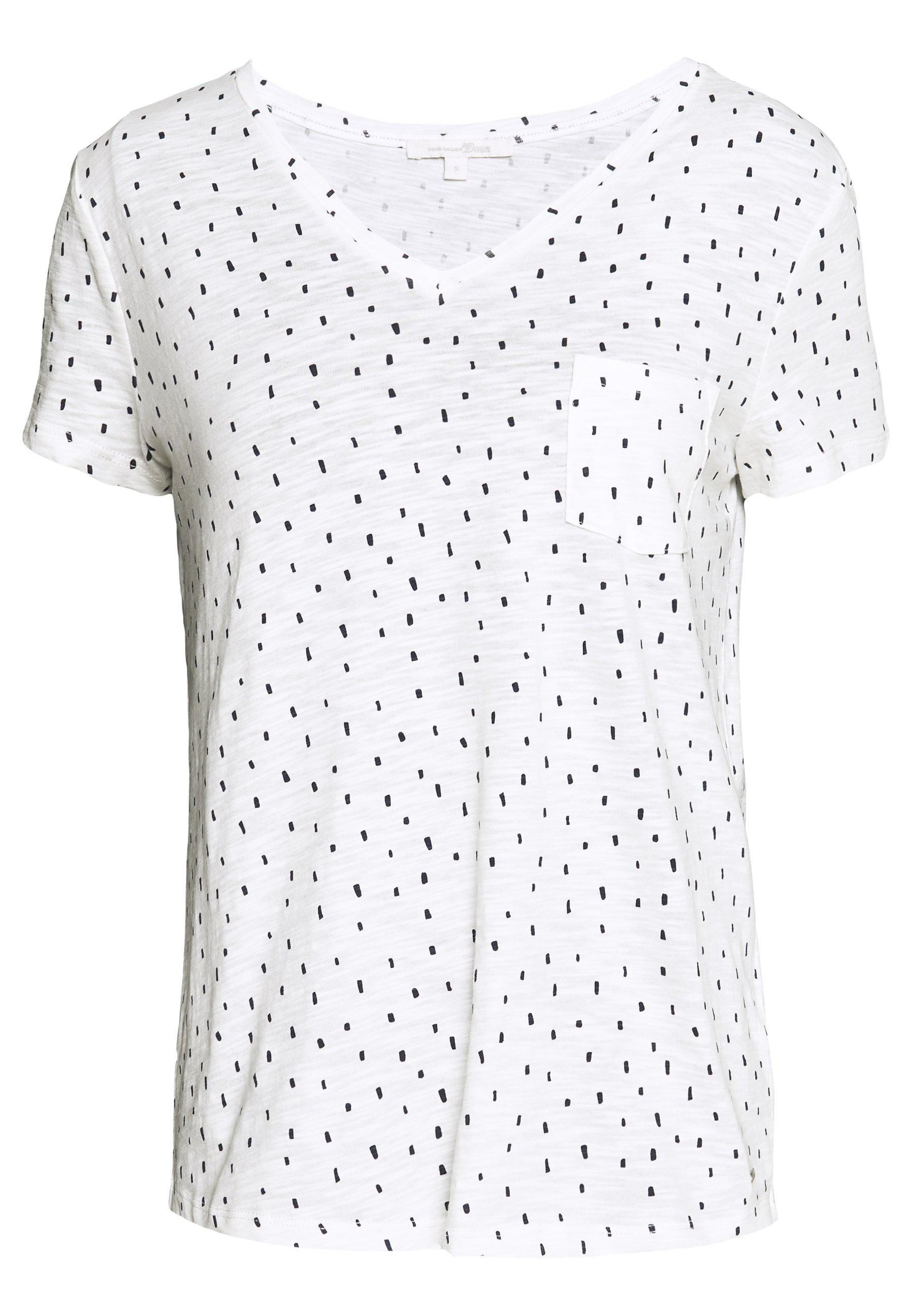 Women PRINTED SLUB TEE - Print T-shirt