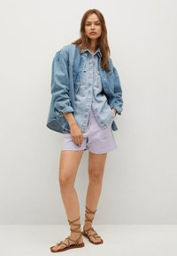 Mango - Denim jacket - middenblauw - 1