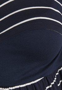 Envie de Fraise - LIMBO - Jersey dress - navy blue/off-white - 2