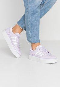 adidas Originals - SLEEK SUPER 72 - Sneakers - purple tint/footwear white/crystal white - 0