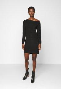 Even&Odd Tall - Jumper dress - black - 0