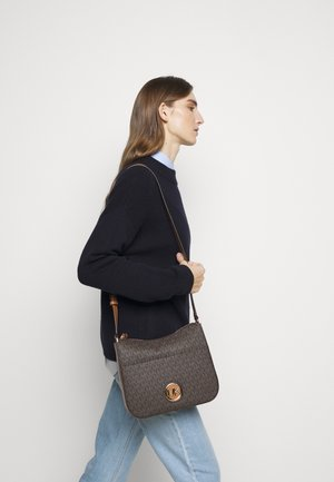 SAMIRALG - Across body bag - brown/acorn