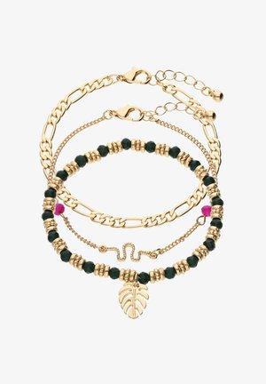 SET - Bracelet - goldfarben