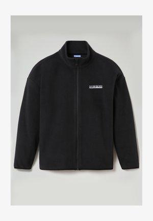 T-BOX FULL ZIP - Fleece jacket - black 041