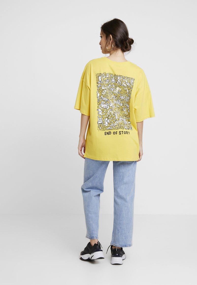 Even&Odd - Print T-shirt - ochre