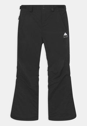 GIRLS SWEETART - Zimní kalhoty - true black