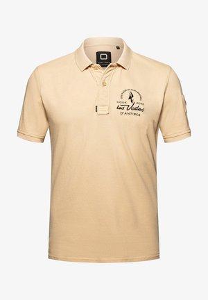 LE PORT - Polo shirt - sand