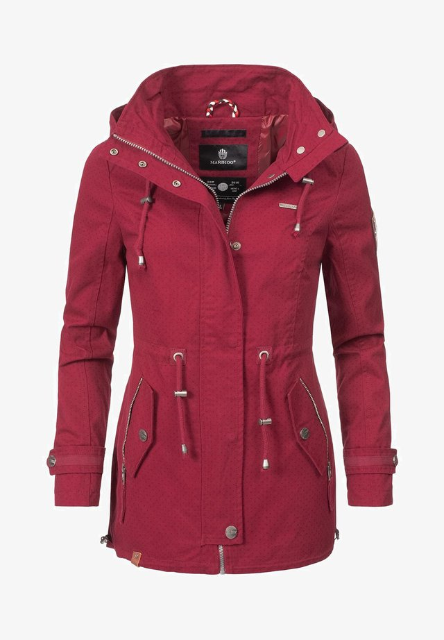 NYOKOO - Parka - red