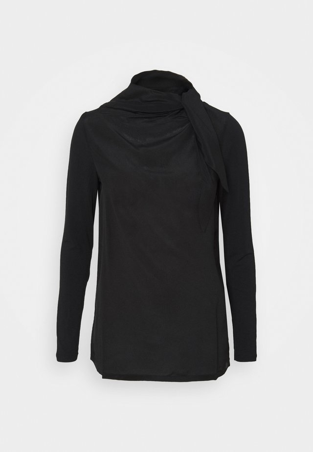 GINESTRA - Long sleeved top - black
