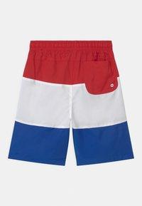 Nike Sportswear - WOVEN BLOCK - Shorts - university red/white/game royal - 1