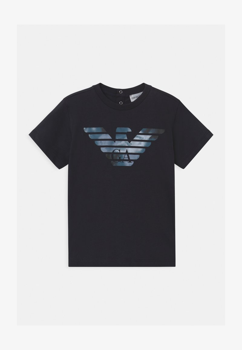 Emporio Armani - BABY - Print T-shirt - blue navy